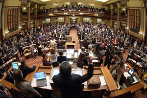 Georgia General Assembly in Session
